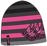 Miami Ink Tattoo Shop TV Show Beanie Hat - Black Pinstripes Winter Skull Cap
