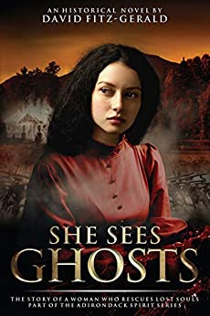 She Sees Ghosts - The Story of a Woman Who Rescues Lost Souls: Part of the Adirondack Spirit Series by [David  Fitz-Gerald]