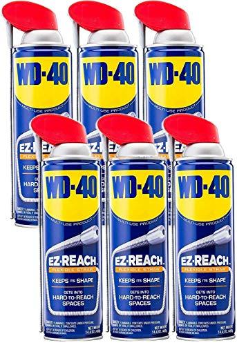 WD-40 Multi-Use Product, EZ-Reach Flexible Straw,...