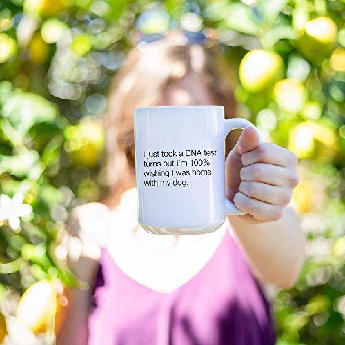 N\A Ho Appena Fatto Un Test del Dna e Ho Scoperto di Essere di 39 m 100 desiderando di Essere a casa con Il Mio caffè per Cani