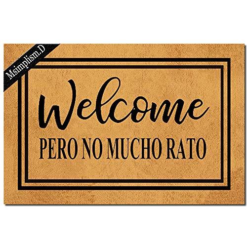 Felpudo Welcome  marca Msimplism.D