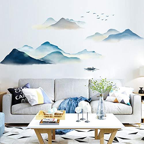 Sayopin muurstickers, wandstickers als wanddecoratie voor slaapkamer, woonkamer, kinderkamer, kunst, doe-het-zelf wooncultuur, muurstickers voor Windows en deur, kast, glazen meubels berg