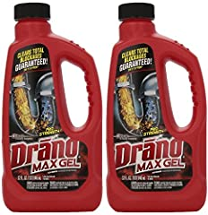 Drano Liquid Maximum Strength Clog Remover it is the best at removing hair, soap scum and other gunky clogs It is safe for plastic, PVC, metal pipes, garbage disposals and septic systems It pours through water straight to the clog