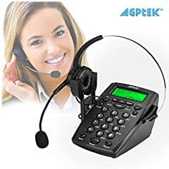 ☎ FUNCTIONAL DIALPAD - FSK/DTMF caller ID display, automatic checking. 30 incoming, 5 outgoing number memories. 2 digits PABX code setup, 32 digits pre-dial and edit. Green Backlight in-use, With LED indication. ☎ CRYSTAL CLEAR CALL - The flexible ad...