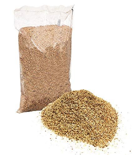FLADEN Alder Smoking Wood Chips Natural and Untreated (Small Cut) for BBQ or Home Smoking Oven - For Fish and Meat - Approx. 500g [36-1231]