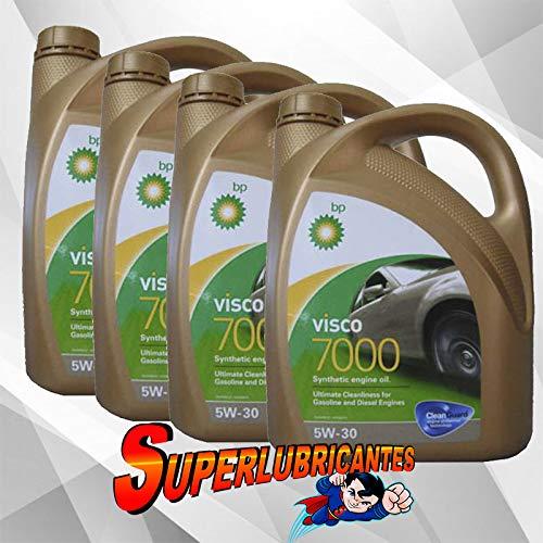 BP Visco 7000 5W30 4x4L(16Litros)