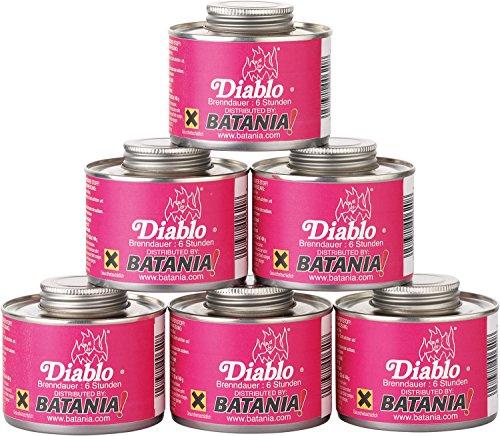 24 x Brennflüssigkeit 'Diablo' brenndauer ca. 6 Stunden | Wiederverwendbar