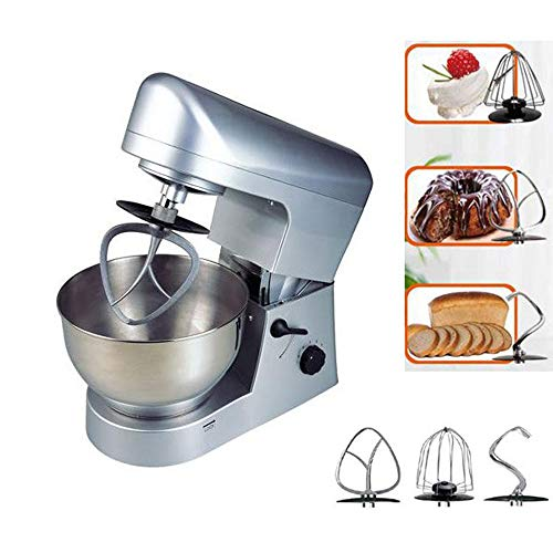 QWERTOUY Multifunctionele keuken Stand Mixer 5L, Mixer machine, kneedmachine 5L
