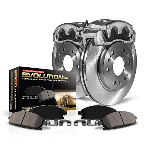 Power Stop KCOE2203 Autospecialty 1-Click OE Replacement Brake Kit with Calipers