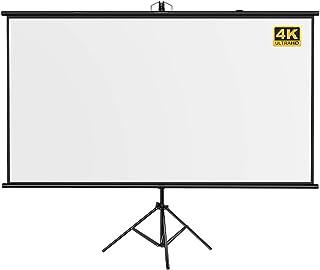 Projectiescherm Stand Vloer Beweegbare Standaard Thuis High Definition Handig Punch-Free 4k-Scherm