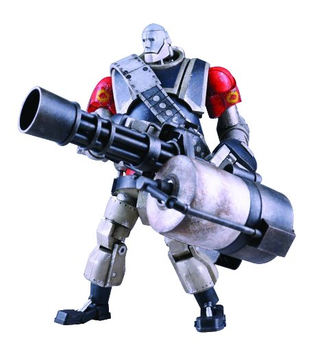 Three A Team Fortress 2: Red Version Robot Heavy Figure