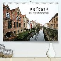 Bruegge - Eine mittelalterliche Stadt (Premium, hochwertiger DIN A2 Wandkalender 2022, Kunstdruck in Hochglanz): Bruegge ist die Hauptstadt der Provinz Westflandern in Belgien (Monatskalender, 14 Seiten )