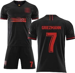 Sommer-Fußballanzug für Kinder, für Torres 9 Costa18 Griezmann 7, Herren-Fußballanzug für die Saison 19-20, weich und bequem