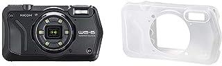 RICOH WG-6 ブラック 本格防水カメラ 20メートル防水 耐衝撃 防塵 耐寒 高画質2000万画素 4K動画対応 高性能GPS内蔵 水中専用マーメードモード搭載 高性能GPS・電子コンパス内蔵 仕事に使える「CALSモード」搭載+RIC...