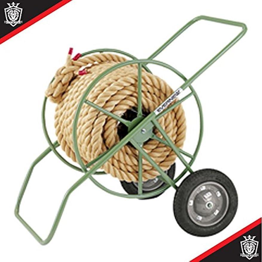 同一性柔らかい足粒エバニュー 綱引きロープ巻取器DX EKA430