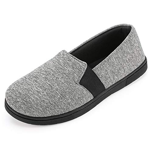 RockDove Women's Flex-Fit Closed Back with 360-Degree Memory Foam, Size 9 US Women, Heathered Grey