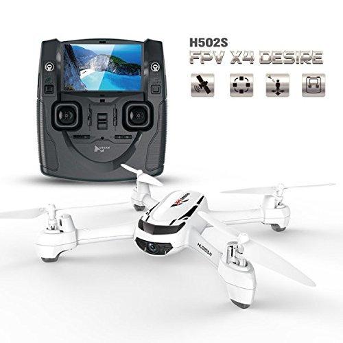 Goolsky Hubsan H502S Drone con Cámara 720P HD 5.8G FPV RC Quadcopter con...
