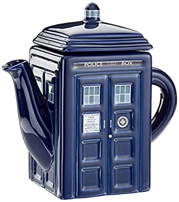 Doctor Who TARDIS Teapot, Officially Licensed. Must-have gift for all Whovians!