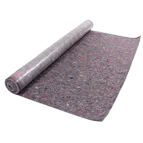 Malervlies 1 m x 10 m 10 m² Abdeckvlies in Premium Qualität mit PE Anti Rutsch Beschichtung 180g je qm stark, rutschhemmender Malerfilz