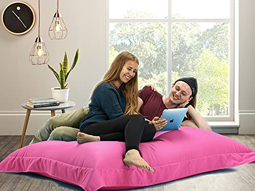 Big Brother Beanbags X-L funky bean bags, great for indoors or outdoors (PINK)