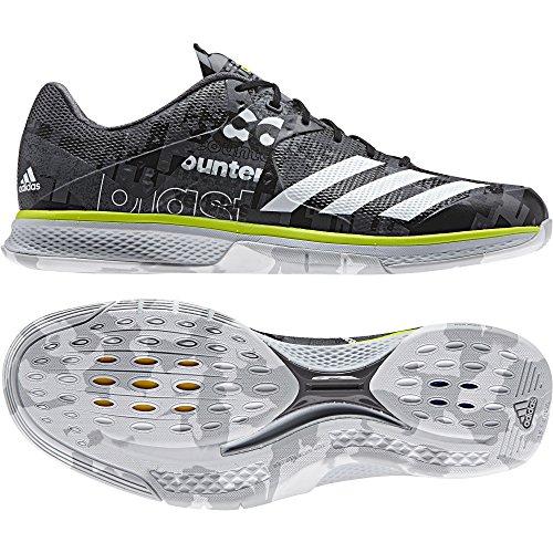 adidas Herren Counterblast Falcon Handballschuhe, Grau (Granit/ftwbla/Amasol), 41 1/3 EU