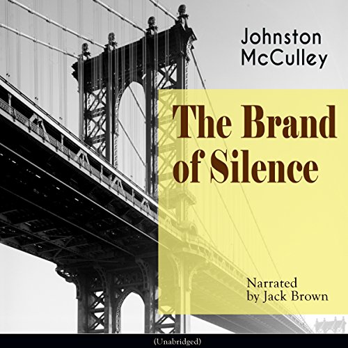 The Brand of Silence audiobook cover art