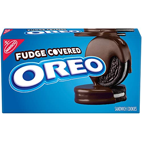 Oreo Chocolate Fudge Covered Cookies, 7.9 Oz
