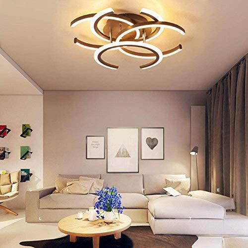 AXWT Dimmbare LED-Deckenleuchte, C-Form-Entwurfs-Schlafzimmer-Lampe dimmbar Fernbedienung Wohnzimmer Lampen-Deckenleuchte-Licht Kinderzimmer Lampe Esszimmer Lampe Badezimmerlampe Hallen-Lampe [Energie