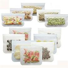 Reusable Silicone Food Storage Bags Stasher Wrap Seal Bowl Vacuum Kitchen 3 Style Storage Saran Wrap Plastic Bags (Specifi...