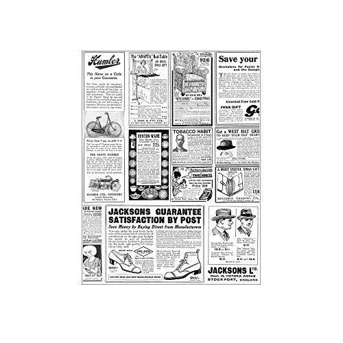 García de Pou 169.12 Envoltorios para Hamburguesas Times, 32 G/M2, 28 x 34 cm, Set de 1000, Blanco