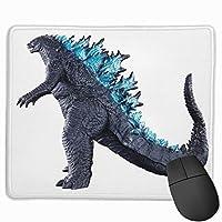 ゴジラ マウスパッド ゲーミング 光学マウス対応 パソコン かわいい 防水 洗える 滑り止め おしゃれ 高級感 耐久性が良い 25*30cm One Size