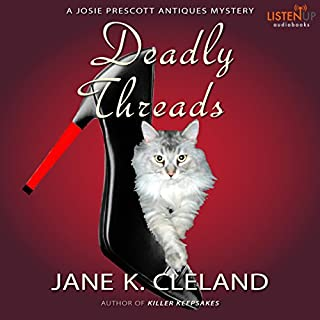 Deadly Threads audiobook cover art