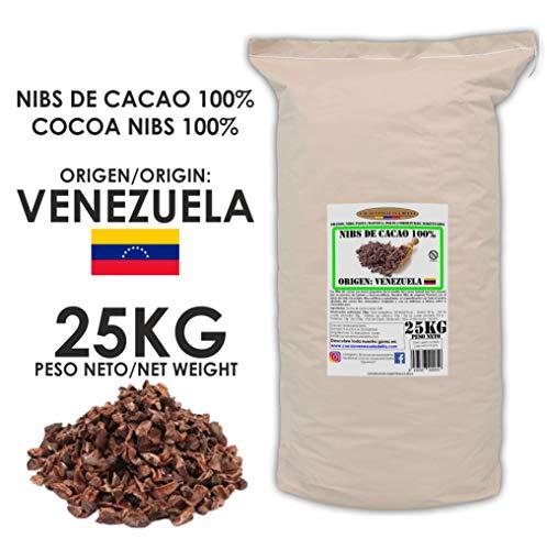 Cacao Venezuela Delta - Nibs De Cacao · Origen Venezuela · 25kg - Calidad Premium