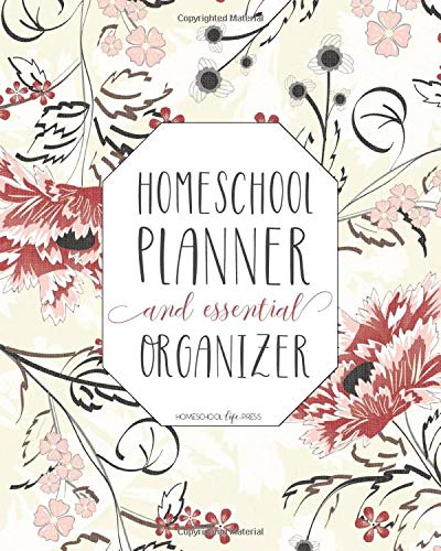 Mega Homeschool Planner And Organizer 'Lotus': Fully Customizable Planner, Organizer, And Record Keeper For Homeschool Fam...