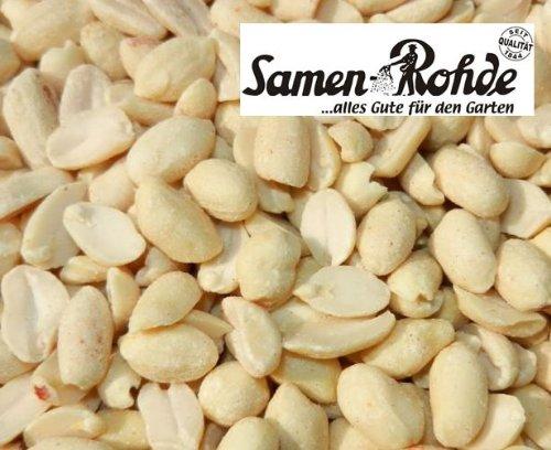 Erdnussbruch 10 kg im Sack, Samen Rohde Premium Qualität, 10.000g Gebinde, Vogelfutter