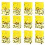 Angoily 50 Unidades de Caja de Papel para Palomitas de Maíz Caja de Aperitivos a Prueba de Aceite para Fiestas Y Películas Nocturnas