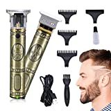 Dokdin Professional Hair Clippers Men Cordless, T-Blade Hair Trimmer, Electric Pro Li Outliner