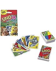 Mattel Games GKF04 - UNO Junior, kortspel för hela familjen för barn från 3 år och uppåt