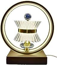 LED-lamp slaapkamer bedlampjes/lichten moderne eenvoud/creatieve fantasielampen 30 * 36 * 15cm Jsmhh (Negro : Beige)