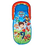 Readybed Paw Patrol Airbed and Sleeping Bag in One, Fabric, Blue, 130x61x23 cm