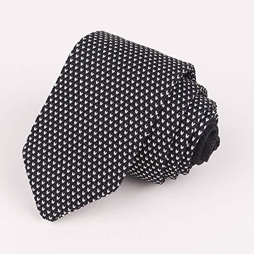 LXTMWSJ Corbata Corbatas Multicolores para Hombre 148-6Cm Corbatas largas de Punto Rojo Azul Gris Polka Dot Gentlemen Business Corbata Corbatas