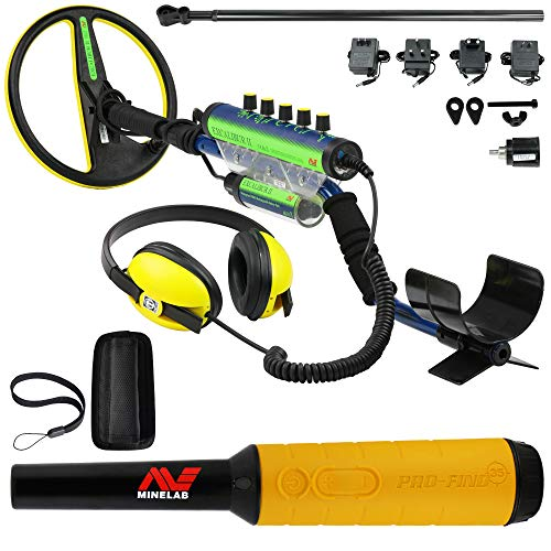 Minelab Excalibur II 1000 Waterproof Detector Bundle Pro Find 35