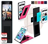 reboon Hülle für Archos 50 Helium 4G Tasche Cover Case Bumper | Pink | Testsieger