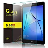 IVSO Samsung Galaxy TAB A 8.0 2018 T387 Screen Protector, [Scratch-Resistant] [No-Bubble ]