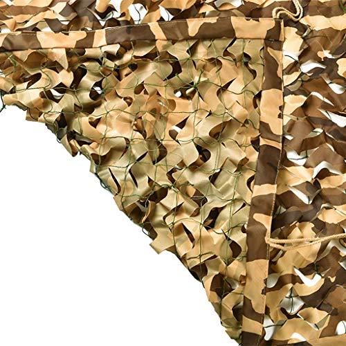 Camouflage camouflagennet, camouflagenet met touwen voor parasols, eend en jacht, van herten jaloezieën, decoratie, camping, themafeest CS spel, hout, zonwering, nets, camo 10x10m