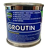 Groutin - Tile Grout Paint 125ml - Designed to Restore Tile Grout (White)