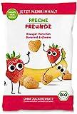 Neu Freche Freunde Knusper-Herzchen Banane & Erdbeere, Bio Knabberzeug für Kinder und Babys ab 1 Jahr,(9x30g) 270g
