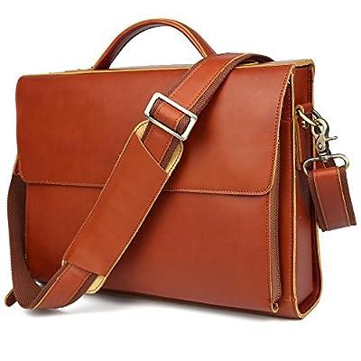 tiding hommes de Crazy Horse en cuir Oxford Sacoche pour ordinateur portable Messenger sac à bandoulière sac fourre-tout sac à main
