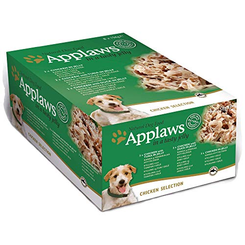 Mpm Produc - Applaws Dog Chicken Selection in Jelly 8 Pack - 156g - EU/UK