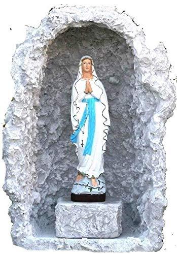 CASABRICONLINE Statua Madonna di Lourdes con Grotta 830+823